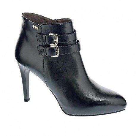 Bottines - Boots, couleur Noir , marque NERO GIARDINI, modèle Bottines - Boots NERO GIARDINI A616314DE Noir