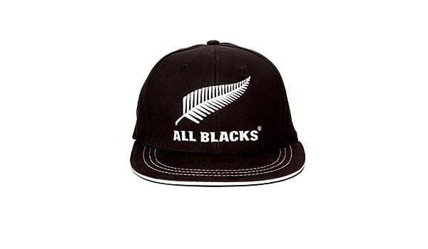 All Blacks All blacks snap back JR Zwart - JR  Amazon.it  Sport e tempo  libero 72c50ba838d7