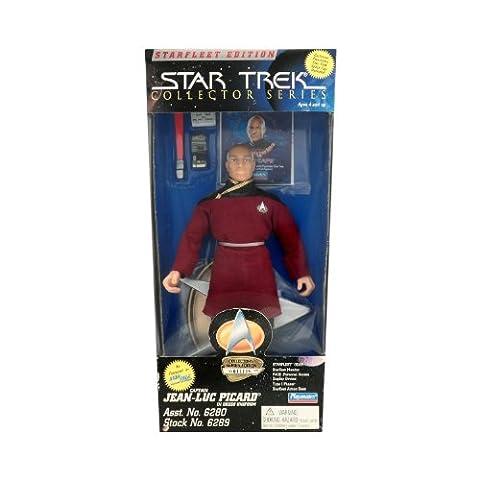 Playmates Starfleet Edition Star Trek Collector Series 9 Inch Captain Jean Luc Picard in Dress