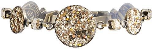 Konplott Armband Studio 54 Brass beige
