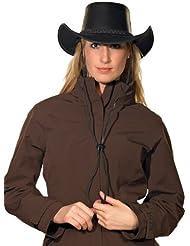 PFIFF Utah Cowboy - Gorro, tamaño L, color negro