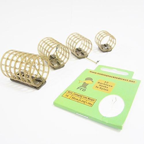 6d5edde8147 Fishing Tackle Direct FTD - Minimum de 3 Drennan Gripmesh Cages d'appâts  avec Pics
