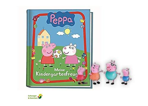 Panini Verlag Peppa Pig: Meine Kindergartenfreunde + 1. Peppa Pig Spielfigur