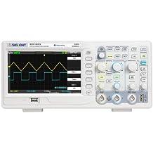 """Siglent SDS1052DL - Oscilloscopio digitale a 2 canali con schermo a 7"""", TFT LCD, 50 MHz, 100-240 V"""