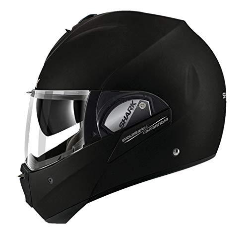 Shark Motorradhelm Evoline Series 3 Fusion, Schwarz, Größe M