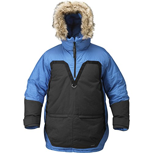 Fjällräven Herren Polar Parka Daunenanorak Daunenjacke, Ice Blue, XL