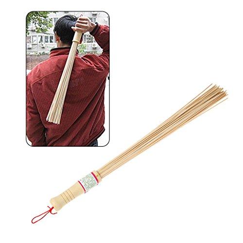 Preisvergleich Produktbild StyLeShop Natürliche Bambus Pat Fitness Sticks Hochwertige Holzgriff Körpermassage
