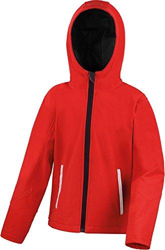 Herren Langarm Oxford Hemd - 130/135 g/m² - Unisex Red / Black