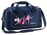 Mein Zwergenland Sporttasche mit Namen und Wunschmotiv, 38 L, French Navy Sport 2