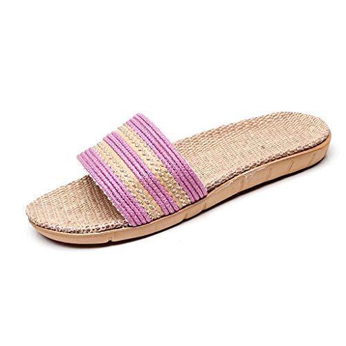 HROIJSL Filzpantoffeln Damen Plastik Schuhe Sandaeln Unisex - Erwachsene Hausschuhe Hüttenschuhe für Damen & Herren Sandal Zehentrenner hochwertige Hausschuhe Barfuß-Gefühl praktische -
