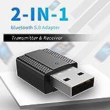 DishyKooker Produits électroniques Transmetteur USB Blue-Tooth Adaptateur Audio sans...