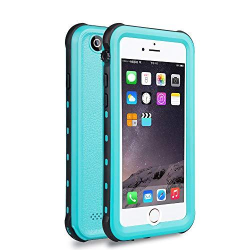ChuWill iPhone 6 wasserdichte Hülle, iPhone 6s Schutzhülle, für Schnorcheln & Schwimmen Haltbarkeit Staubdicht Schneedicht stoßfest Handyhülle für iPhone 6/6s (4.7 inch) - Blau