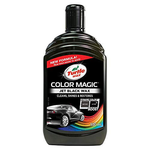 Turtle Wax 52708 Pulido de Pintura Color Magic, Jet Black, 500 ml