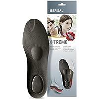 Bergal 21518448, Bergal Comfort Insoles Black Size: 38 EU (Shoes & Bags)