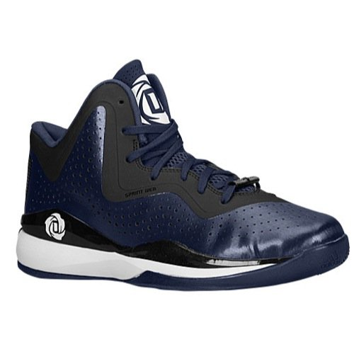 adidas D Rose 773 III Mens Basketball Shoe 9.5 Navy-Black-White