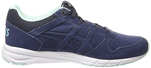 Asics Shaw Runner, Sneakers Basses Mixte adulte Bleu (indian Ink/indian Ink 5050)