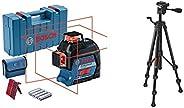Bosch Professional Linienlaser GLL 3-80 + Bosch Professional Baustativ BT 150