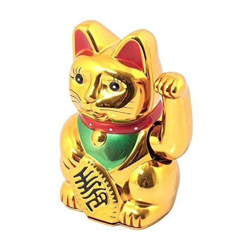 doréà piles Maneki Neko Lucky Agitant Chance chat