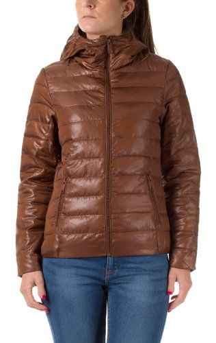 Urban Surface Damen Nylonjacken Steppjacke, middle brown, L