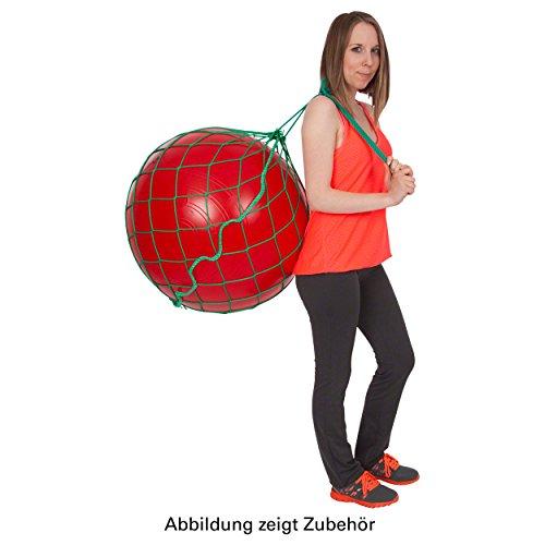 Ballnetz für 1 Gymnastikball Aufbewahrungshilfe Transporttasche Aufhängung GRÜN