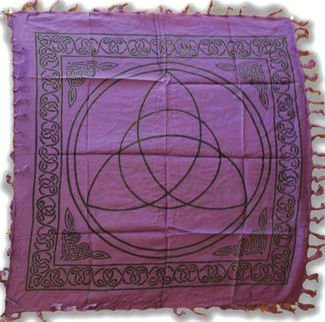 Triquetra Charmed Altar Cloth - 36