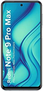 Redmi Note 9 Pro Max (Interstellar Black, 6GB RAM, 64GB Storage) - 64MP Quad Camera & Alexa Hands-Free Cap