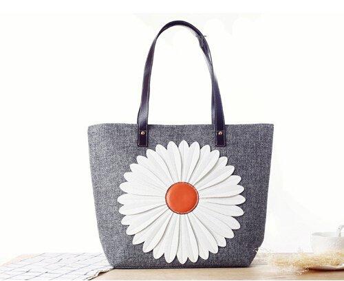 GUMO-Spiaggia sacchi, borse a tracolla, borse di tela, grossi sacchi, sacchetti di paglia, onorevoli,bianco gray