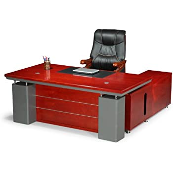 Chef Schreibtisch Büro Bueromoebel Büroausstattung Kirschbaum ...