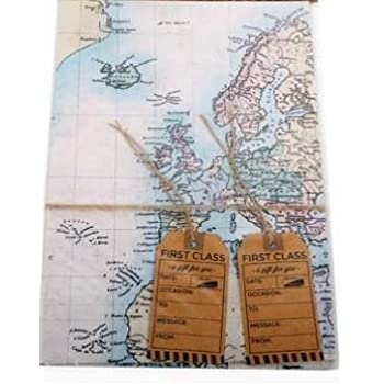 World map design gift wrap wrapping tags present sheets wrapping world map design gift wrap wrapping tags present sheets wrapping paper birthday wedding fathers day gumiabroncs Gallery