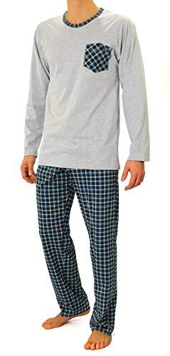 Sesto Senso® Pijama Hombre Largo Inverno clásico