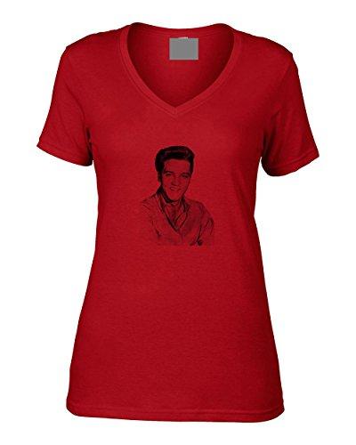 Vintage Magazine Company Damen T-Shirt Rot