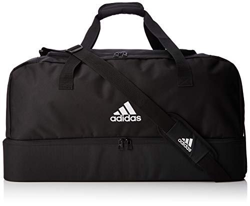 adidas Sports Bag TIRO DU BC L, black/white, 66x34x32cm, DQ1081