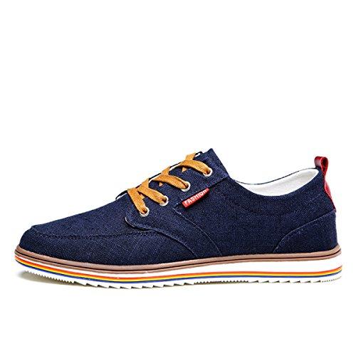 CHT Männer Des Sommers Beiläufige Schuhe Leinwand 6