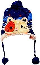 Krystle Knit Beanie Cap For Baby, Misaky Winter Warm Kids Boy Blue Warm Hat