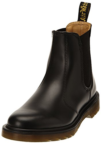 Dr. Martens 2976 SMOOTH BLACKPLAIN WELT, Stivaletti Unisex Adulto, Nero, 38