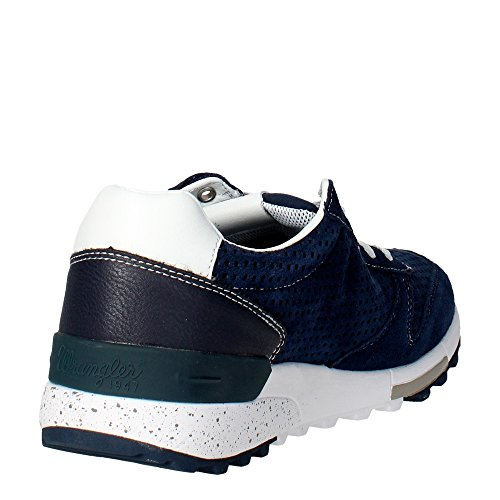 Wrangler WM161092 Sneakers Bassa Uomo Blu Mejor Salida Toma De La Cantidad De Pago De Envío Libre Con Visa Aclaramiento Precio Increíble k3GCHv