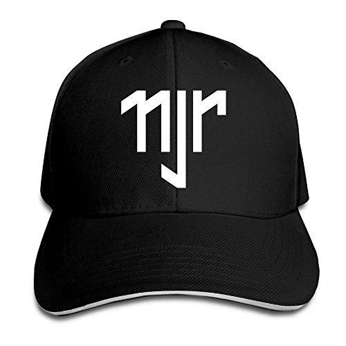 Hittings Neymar Sandwich Peaked Hat/Cap Black