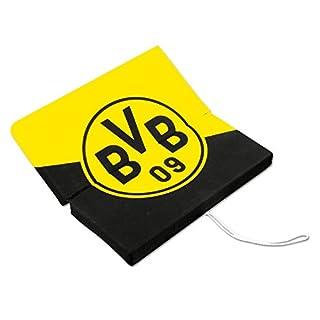Borussia Dortmund BVB 12820700 Klappsitzkissen, Schwarz/gelb, 33 x 33 x 3 cm