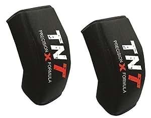TNT Gel Rembourré GENOU PATINS MMA, UFC, Lutte, Cage Lutte Contact Sports 'Précision X Formule (1 Paire)-Senior