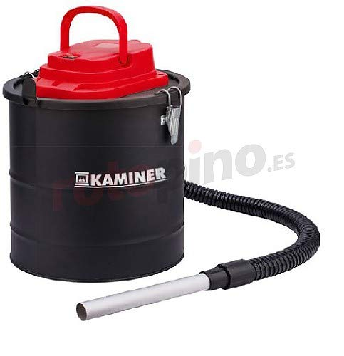 Kaminer Aschesauger Elektrisch 15L 1200W Kaminofen Grill 2 Filtersystem HEPA 1170