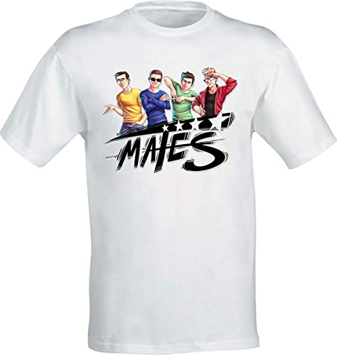 T-shirt dei Mates disegno fumetto St3pny Surreal Power Anima Vegas - Bambino (12-14 Anni)