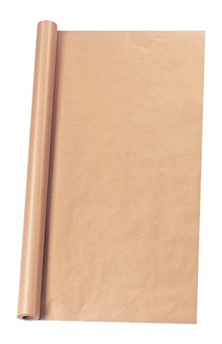 Herlitz 11387248 Packpapierrolle 10 m x 1 m, 1 Rolle