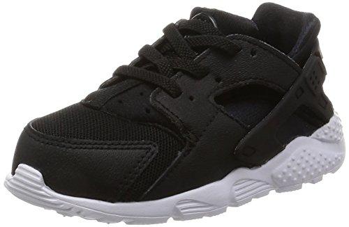 Nike Huarache Run (Td), Baskets Basses Mixte Bébé, Noir