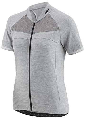 Louis Garneau Damen Beeze 2Radtrikot, Damen, Grau Meliert, Large - Fahrt Ärmelloses T-shirt