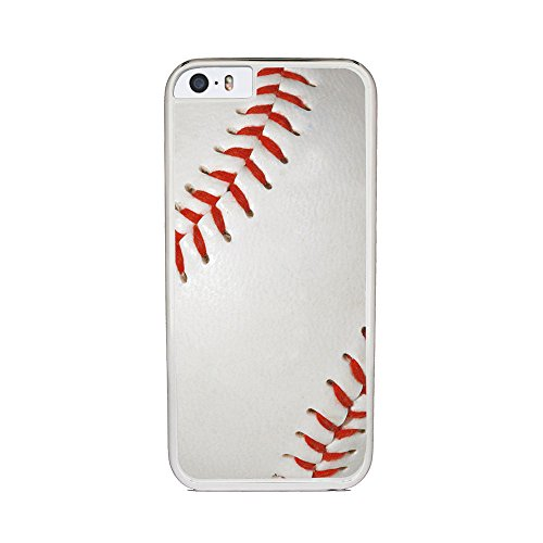 Insomniac Arts - Baseball - iPhone 6 Cover, Cell Phone Case - White Plastic Sides