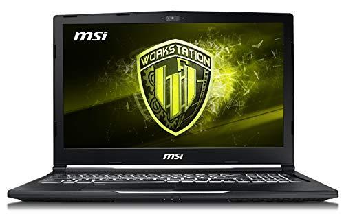 MSI WE73 8SK-254IT Notebook con Processore E-2176M e Scheda Grafica Nvidia QUADRO P3200 da 6 GB GDDR5, Display FHD 120Hz, 16 GB RAM DDR IV [Layout Italiano]