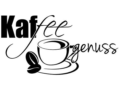 Wandtattoo-bilder Wandtattoo Kaffee Genuss Nr 1 Wandsticker Küche Küchendeko Coffee Café...