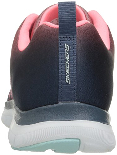 Skechers Damen Flex Appeal 2.0 Sneakers Grau (cccl)