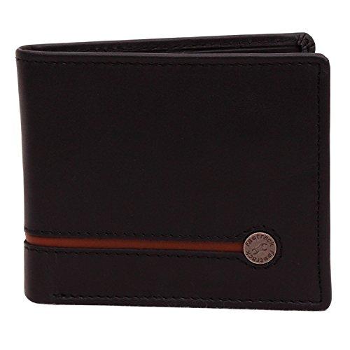 Fastrack Black Leather Men's Wallet