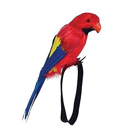 Piraten Weihnachtsfeier Hawaii Zubehör Falsch Feder Schulter Handgelenk Papagei